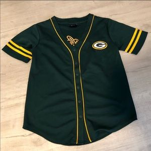Tops - Packers baseball style jersey